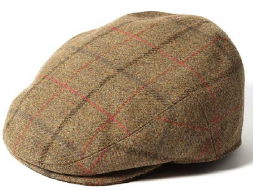 Failsworth Gamekeeper Tweed Flat Cap Style 1185